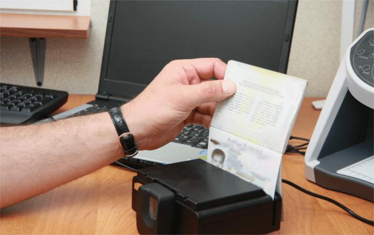 Проверка паспорта жителя Крыма